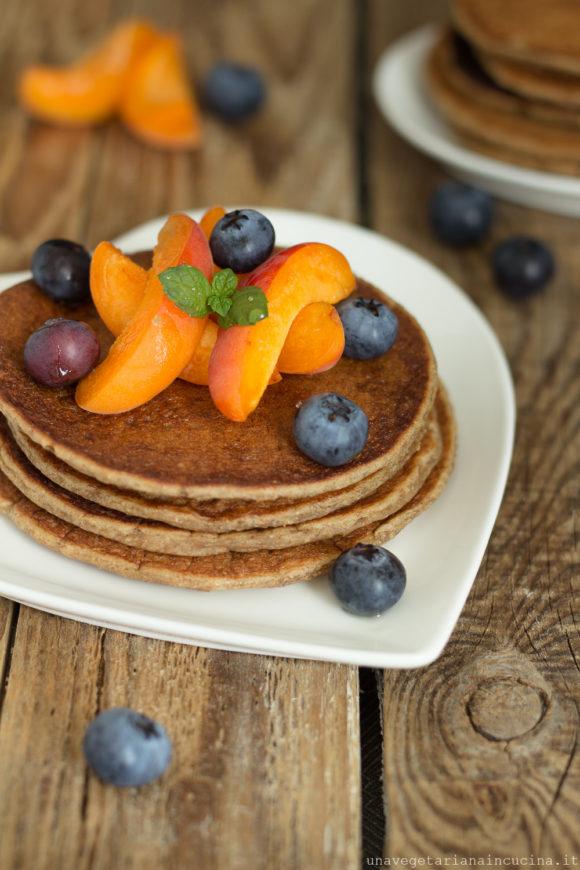 pancake vegan segale
