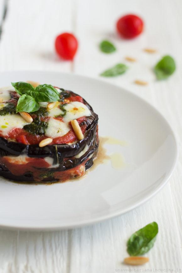 parmigiana pesto