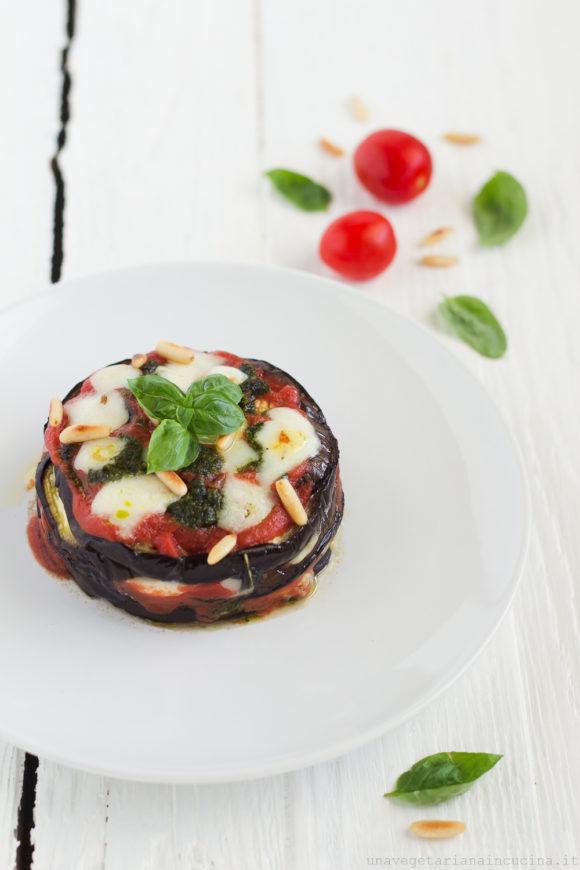 parmigiana melanzane scamorza