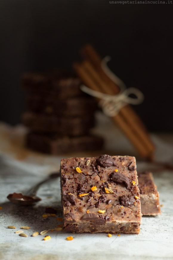 castagnaccio cioccolato fichi