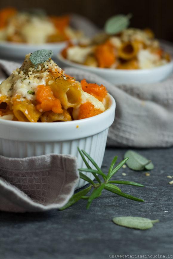 pasta al forno zucca formais