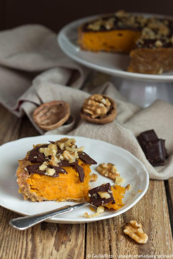 pumpking pie torta zucca