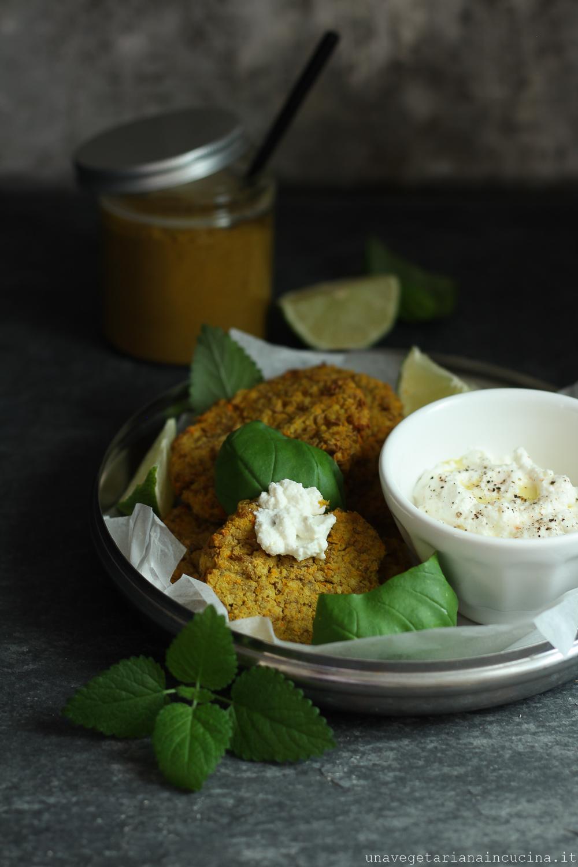 polpette lenticchie miglio curry