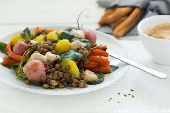 lenticchie insalata