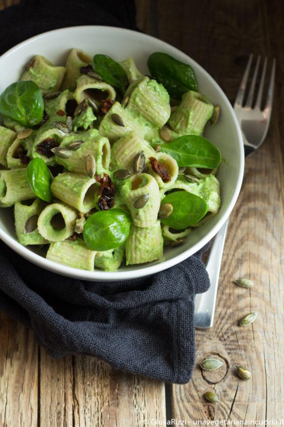 pasta aloe spinacini ricotta