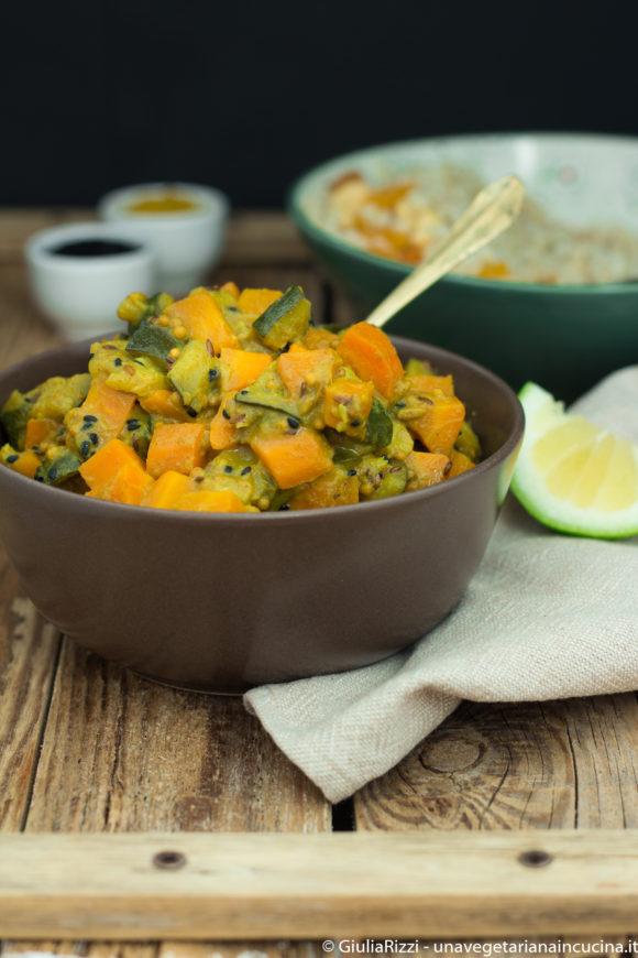 curry verdure sorgo