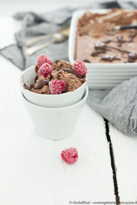 gelato vegan cioccolato cocco