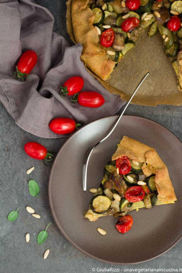 torta salata tofu verdure