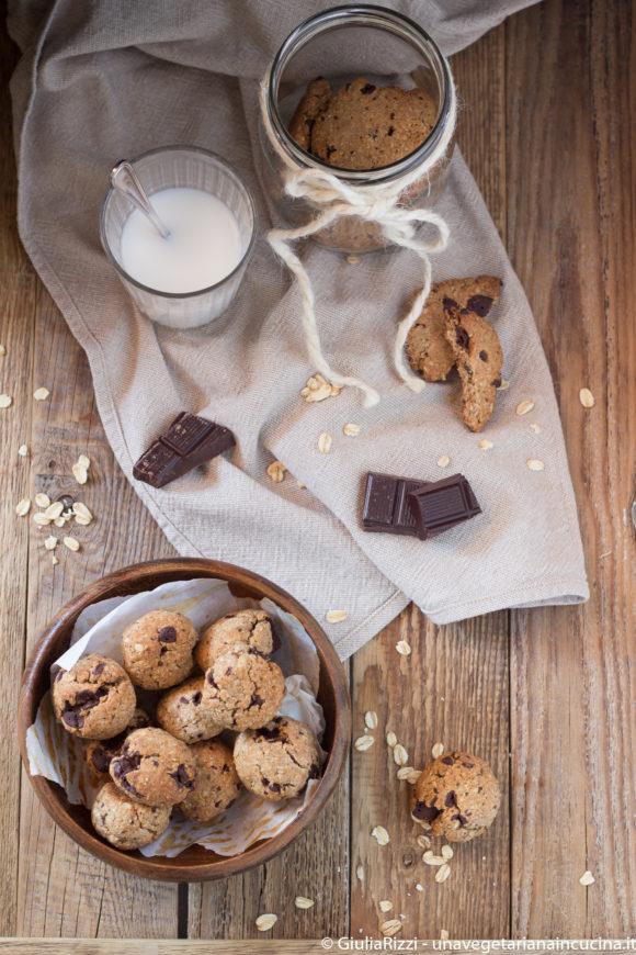 biscottini segale avena cioccolato