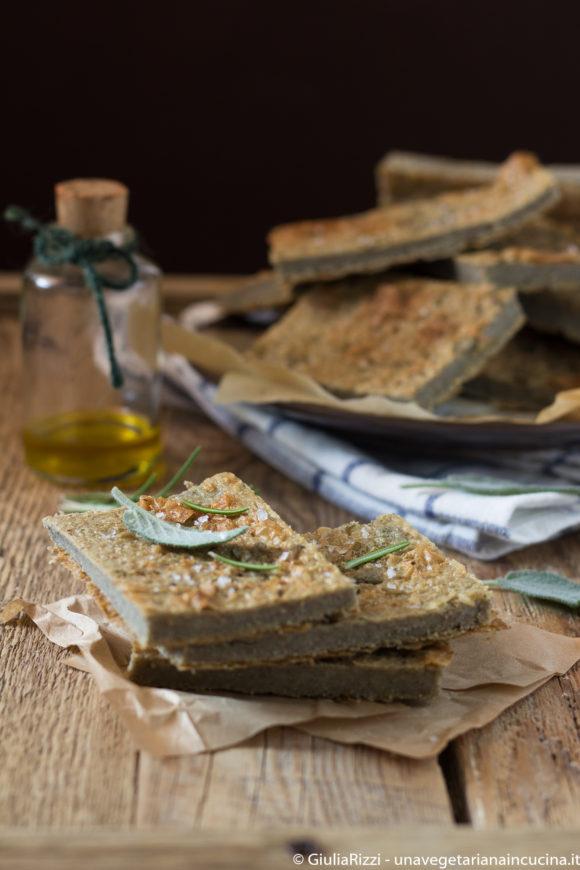 farinata lenticchie vegan