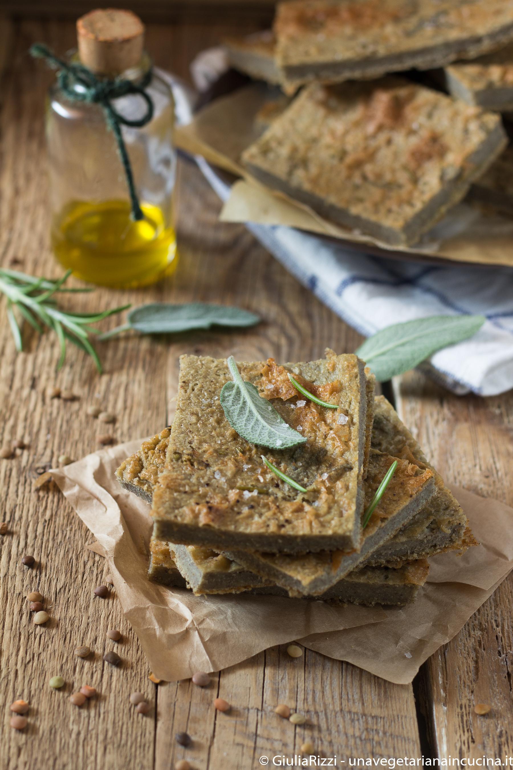 farinata lenticchie