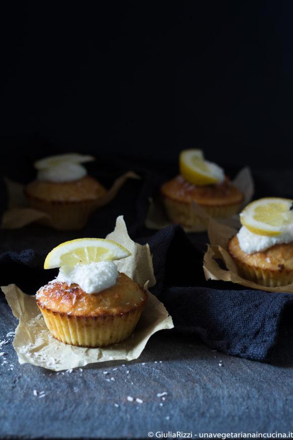 muffin cocco limone