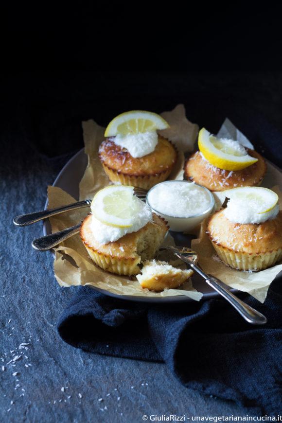 muffin cocco limone stevia