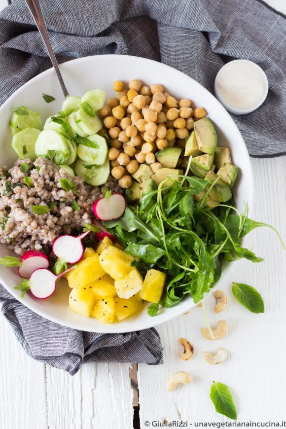 bowl grano saraceno