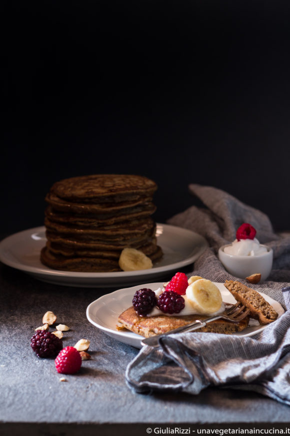 pancakes proteici senza zucchero