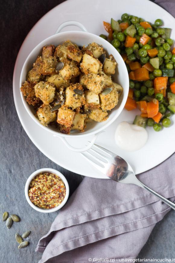 tofu impanato semi