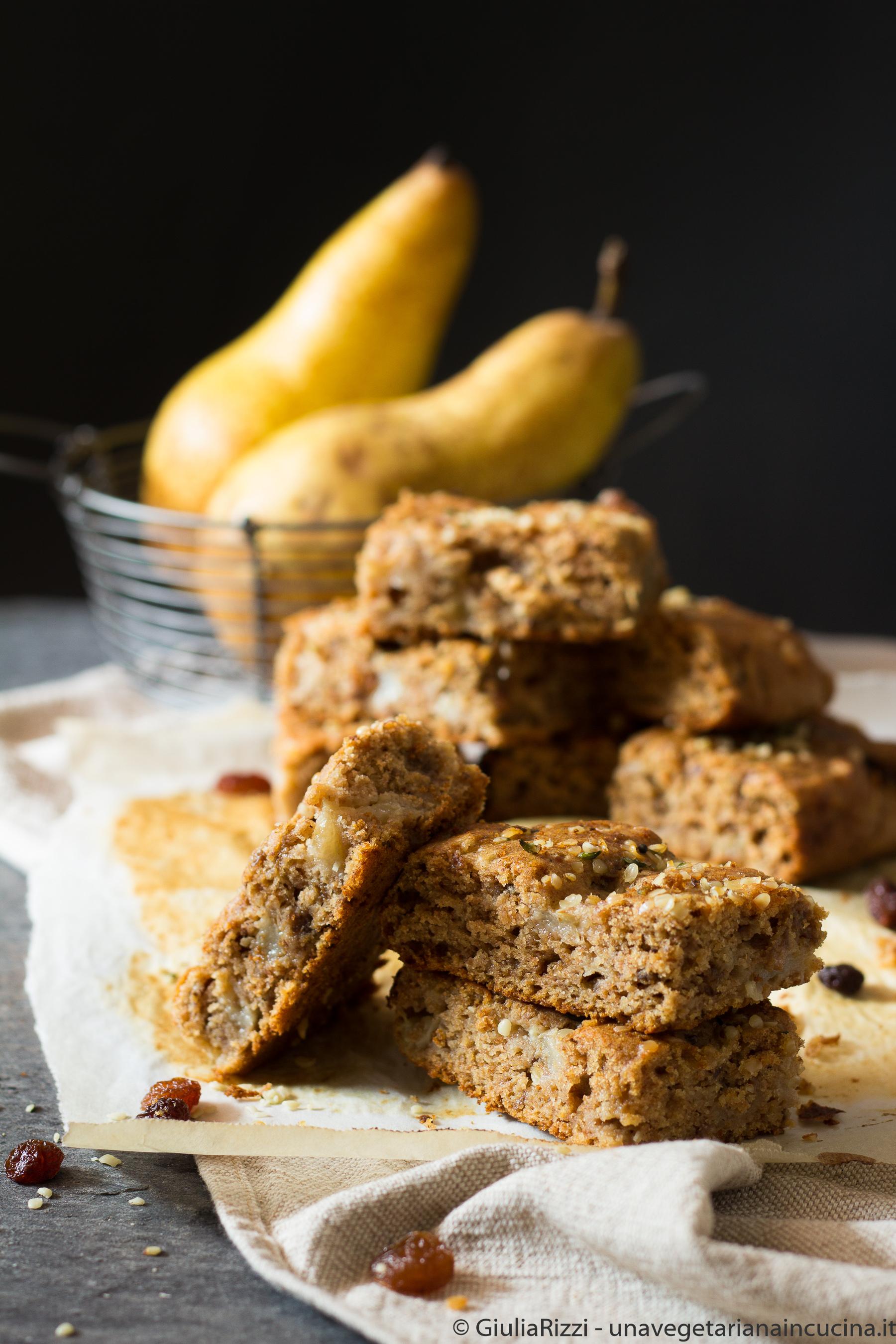 torta senza zucchero pere