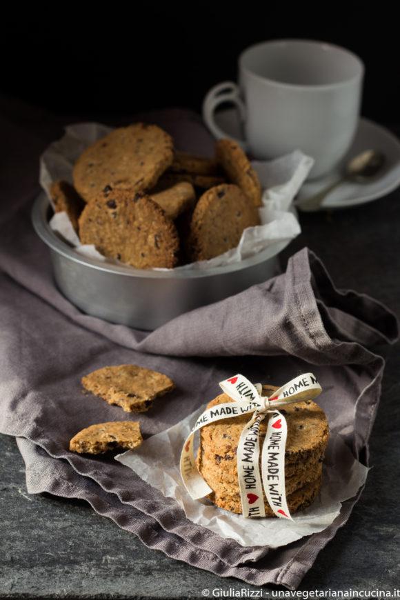 biscotti senza glutine cocco cioccolato
