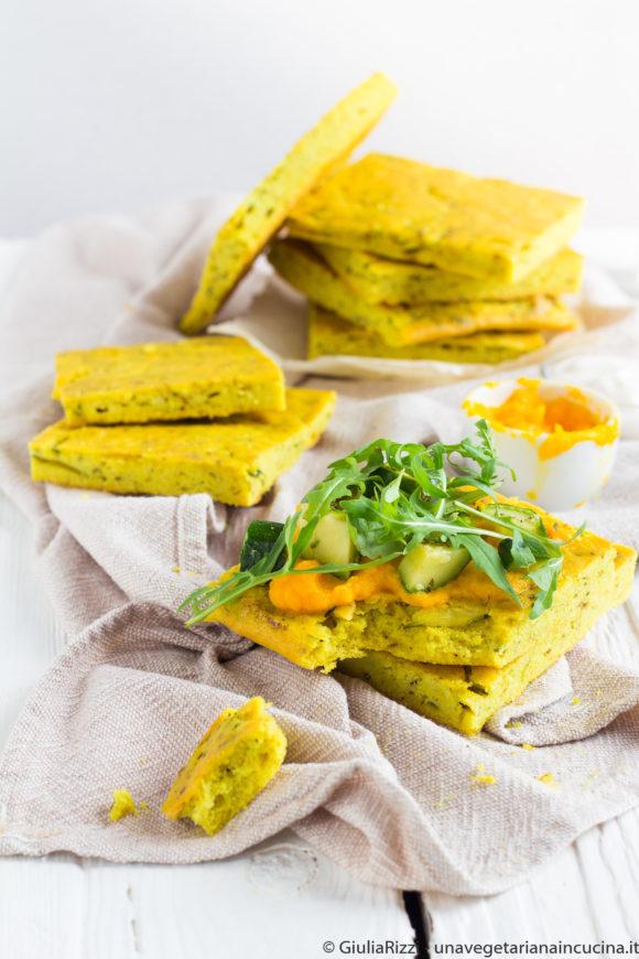flatbread senza glutine zucchine