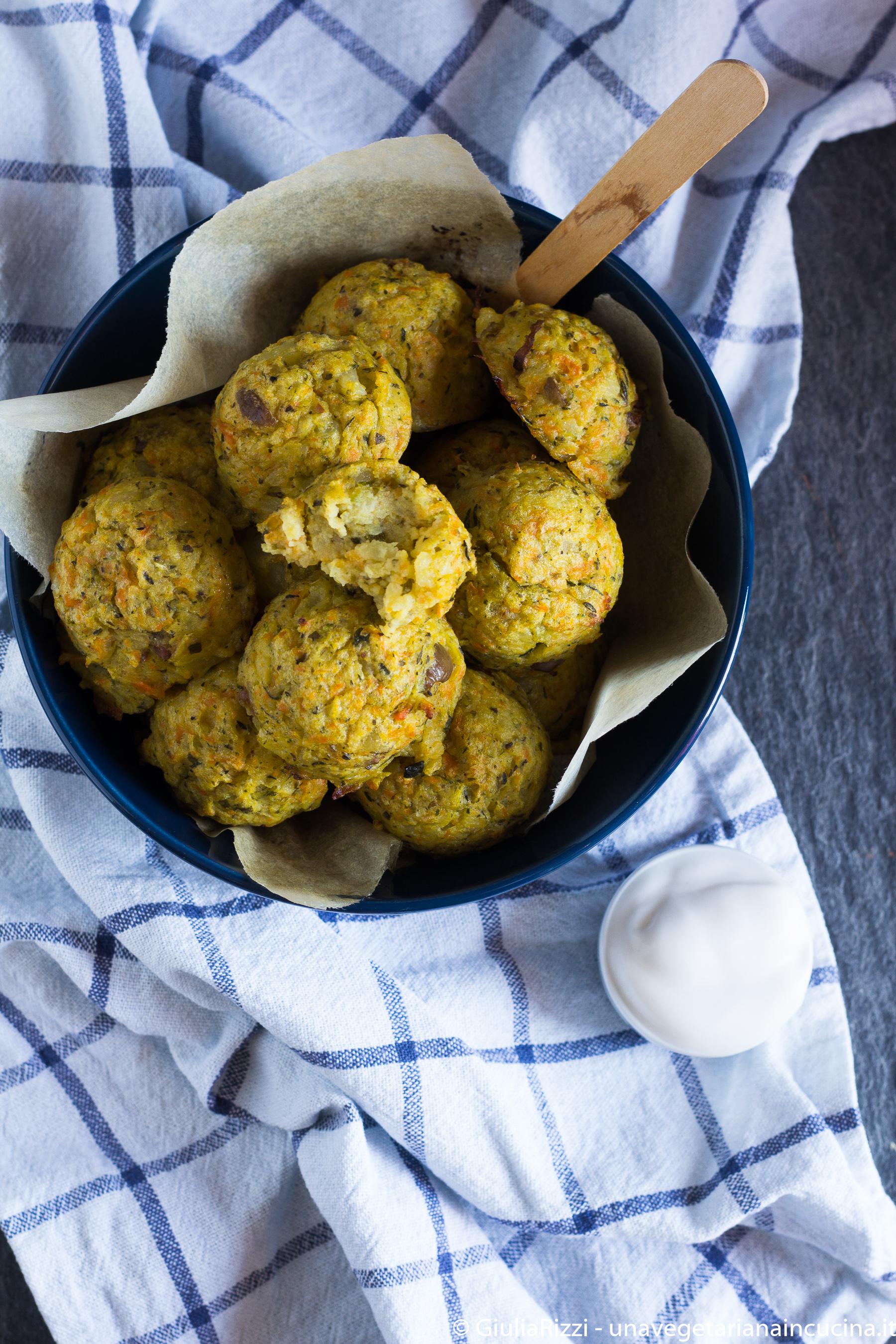 polpette patate verdure olive
