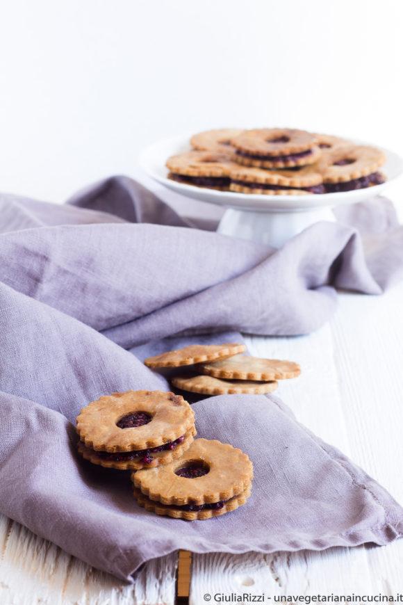 biscotti senza glutine chia jam