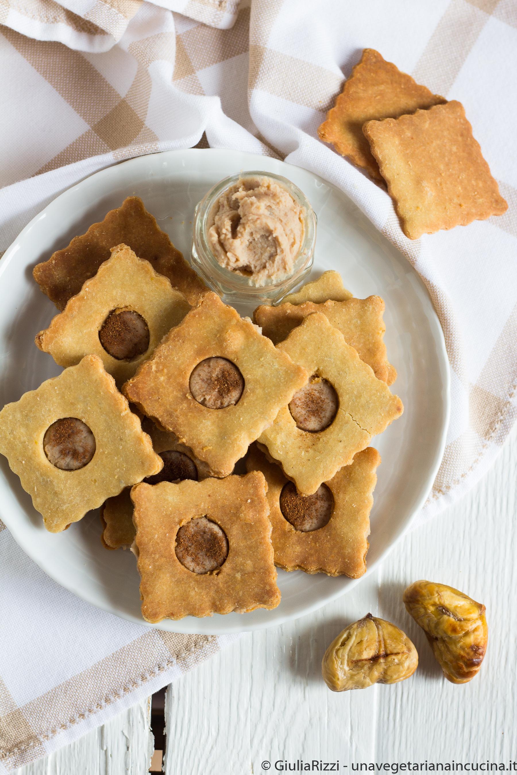 frolle senza glutine nocciole castagne