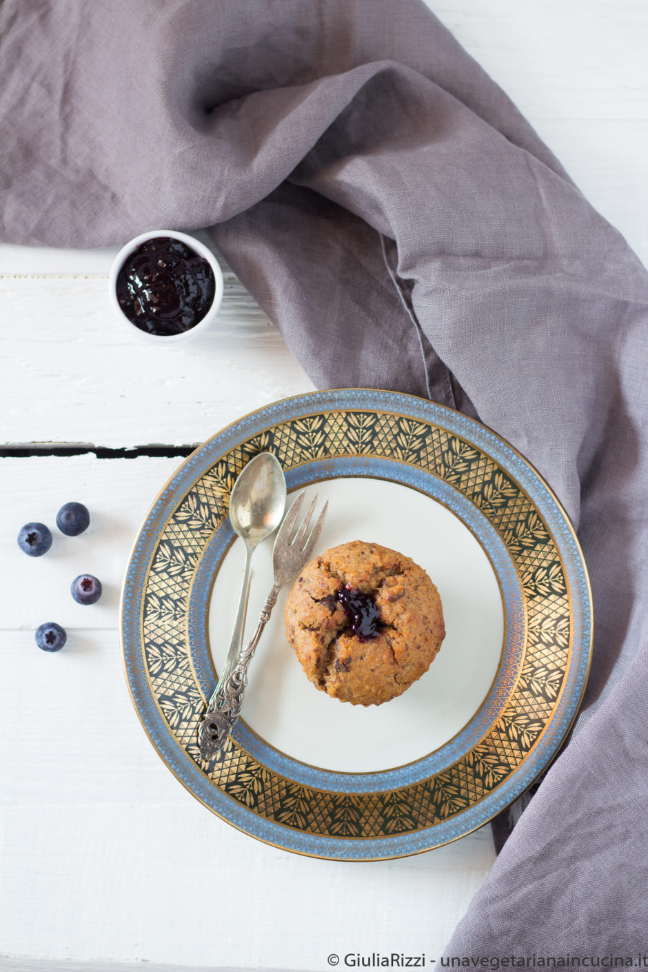 muffin vegan senza zucchero avena