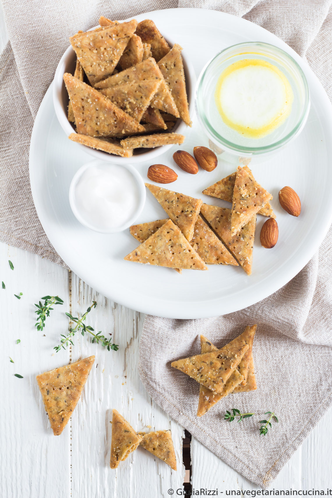 crackers senza glutine ricotta