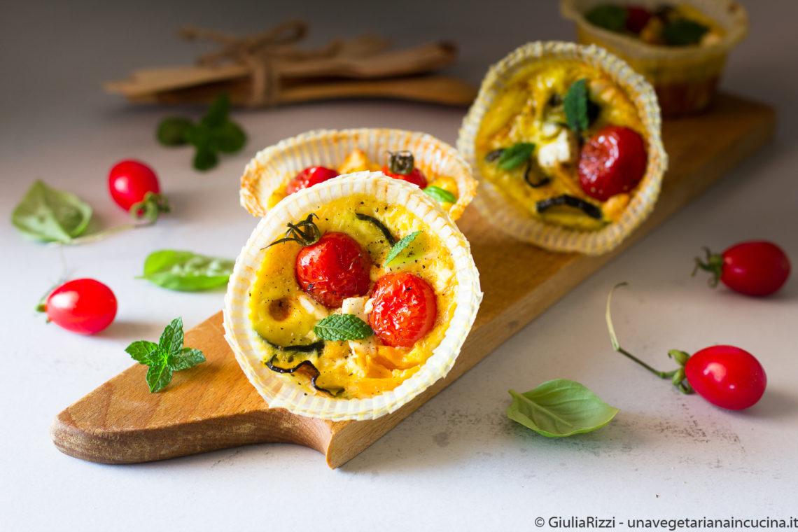 frittatine verdure estive