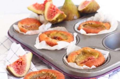muffin fichi senza glutine