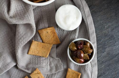 crackers senza glutine olive