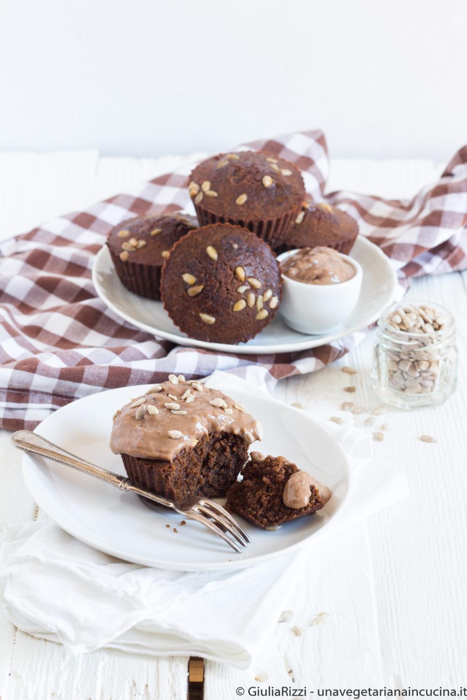 muffin semi girasole carrube senza glutine