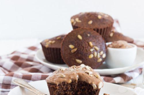 muffin semi girasole carrube