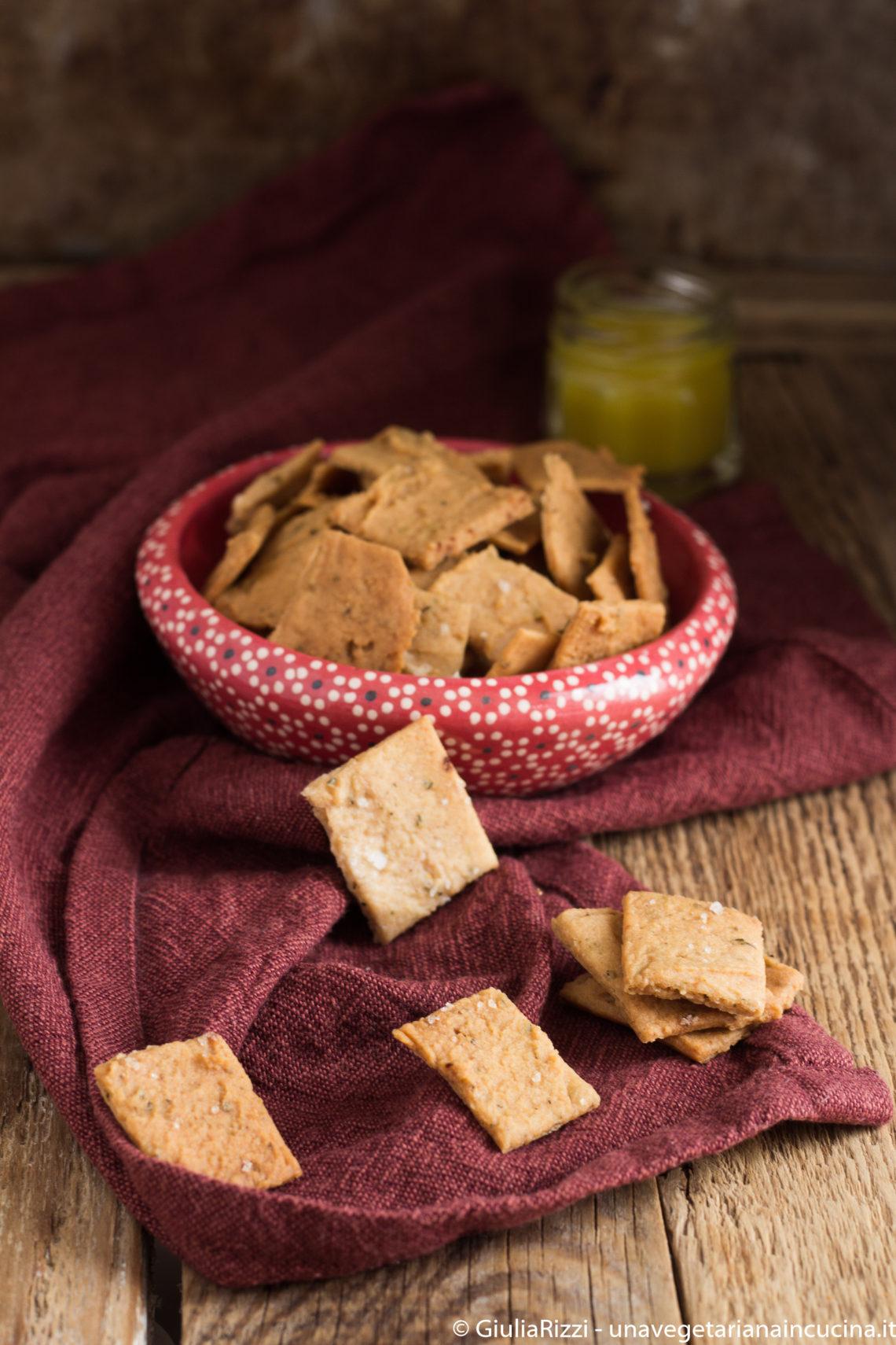 crackers riso senza glutine