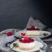 cheesecake vegan cocco lamponi